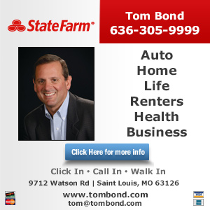 Call Tom Bond - State Farm Insurance Agent Today!