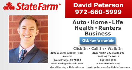 David Peterson - State Farm Insurance Agent Listing Image